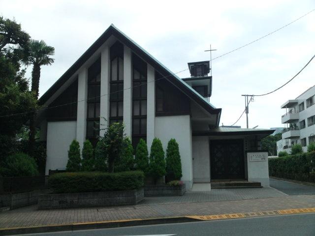 Takanawa Protestant Charch.  Takanawa,Minato-ku.
