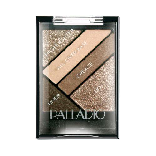 Palladio Palladio Sombras Silk Fx Debutante Espectacular sombra que brinda a tu mirada un brillo unico y explosivo, en combinacion de  4 hermosos tonos y un delineador de ojos que profundiza tu mirada.