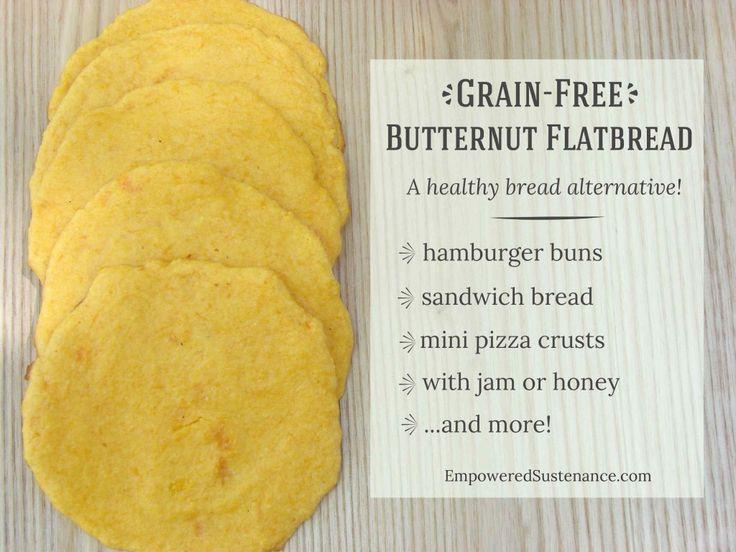 Grain Free Butternut Flatbread
