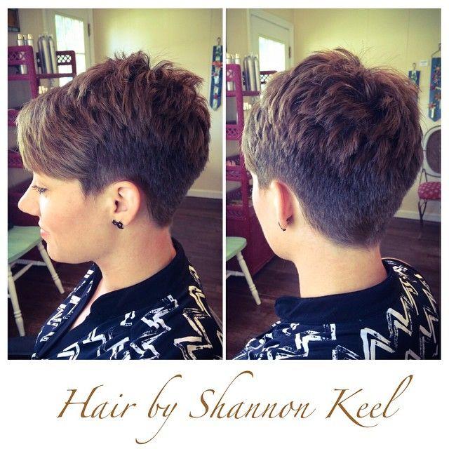 Short hair, good idea to start | <br/>    Edgy