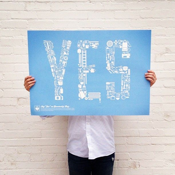 YES poster - Andrew Beck