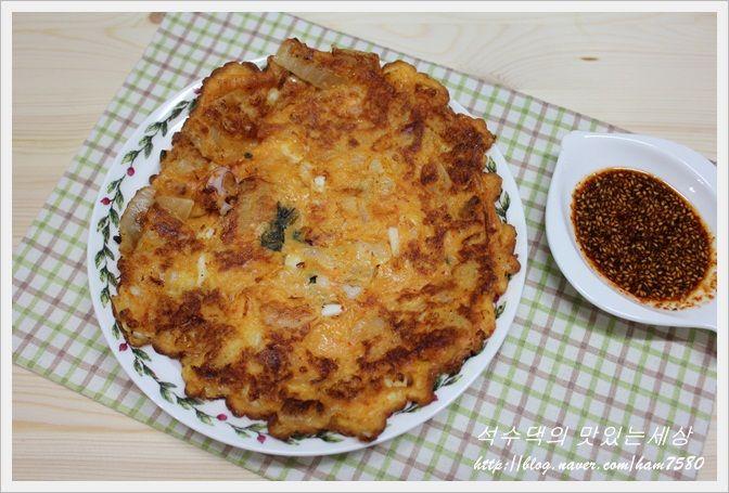 [김치전 맛있게 만드는법] 바삭바삭 맛있는 김치전 만들기/김치전,전,비오는날 최고의요리,술안주,간식 : 네이버 블로그