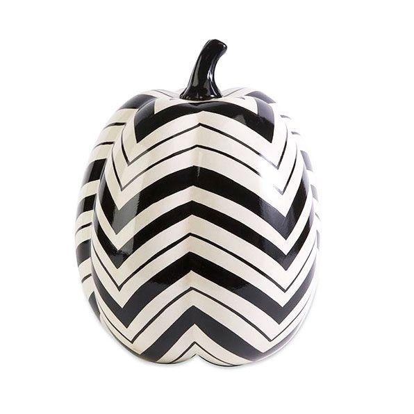 60s modern ceramic pumpkin dotandbocom fall decorationshalloween - Ceramic Halloween Decorations