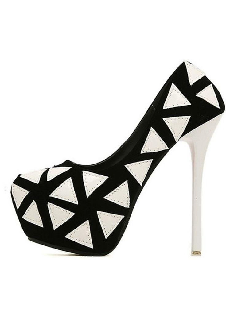 Comparte Zapatos de tacon color blanco