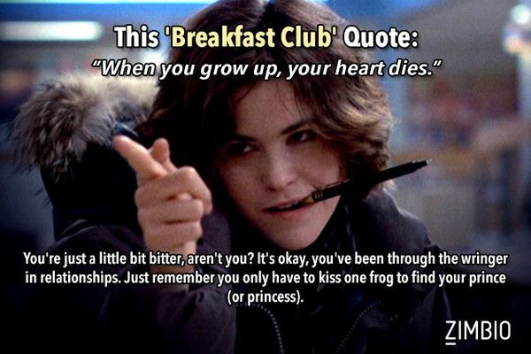 Which 80s Movie Quote Sums Up Your Love Life?