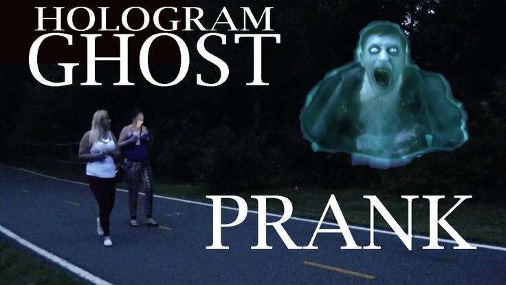 Halloween Hologram Ghost  Prank