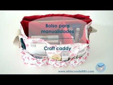 Tutoriales de manualidades. El Rincon de Fri-Fri.: Cómo hacer un bolso con compartimentos