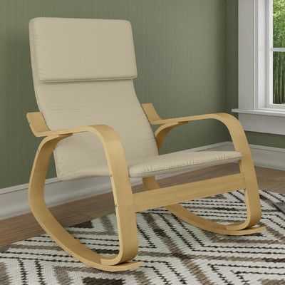 Charming Found It At AllModern   Aquios Rocking Chair Great Pictures