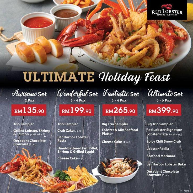 26 Nov 2018 Onward Red Lobster Ultimate Holiday Feast