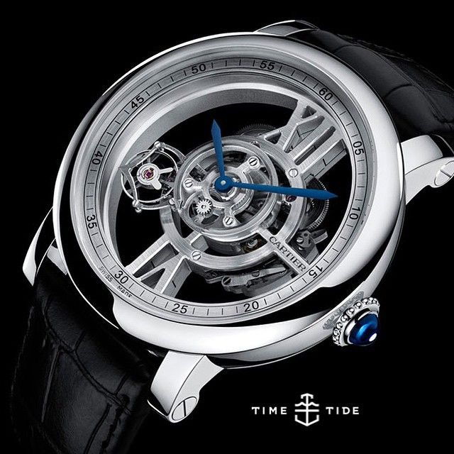 The Cartier Rotonde De Cartier Astrotourbillon Skeleton Watch Calibre 9461 MC - read Felix's top line thoughts on the site right now... Click the link in the bio ️ #cartier #tourbillon #rotondedecartier #astrotourbillon
