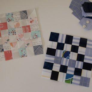 The Splendid Sampler Block 12 #oncewornfabrics #amysinibaldi #paperiefabrics #artgalleryfabrics #agf #sublimebabyfabrics