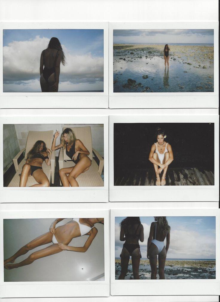 summer life in polaroids