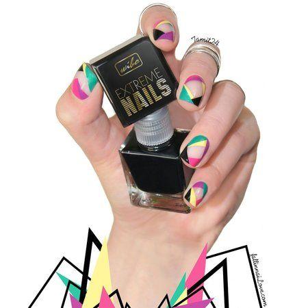 Extreme Cutoff Nailart #nailart #nails #polish #mani - Share/explore more nail looks at bellashoot.com!