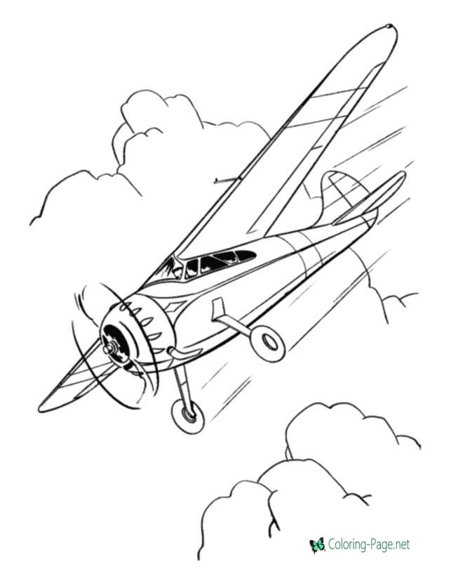 Airplane Coloring Pages Airplane Coloring Pages Coloring Pages Airplane Drawing