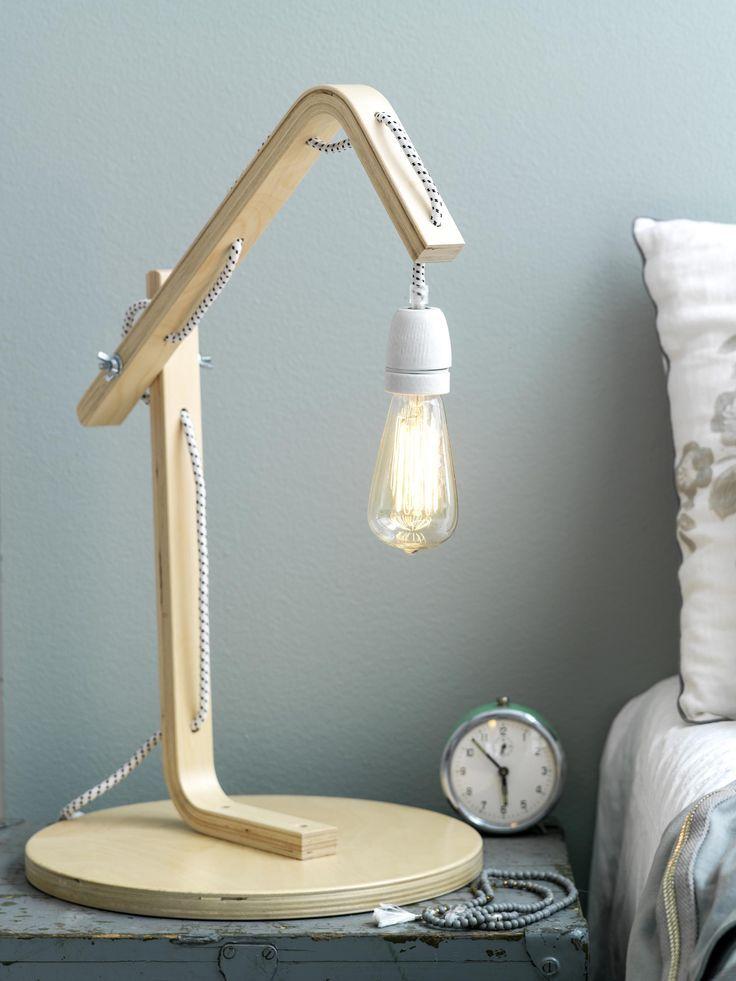 Bedlamp Blikvanger Naast Je Bed Vtwonen Bedlamp Ikea Kinderkamer Houten Lamp