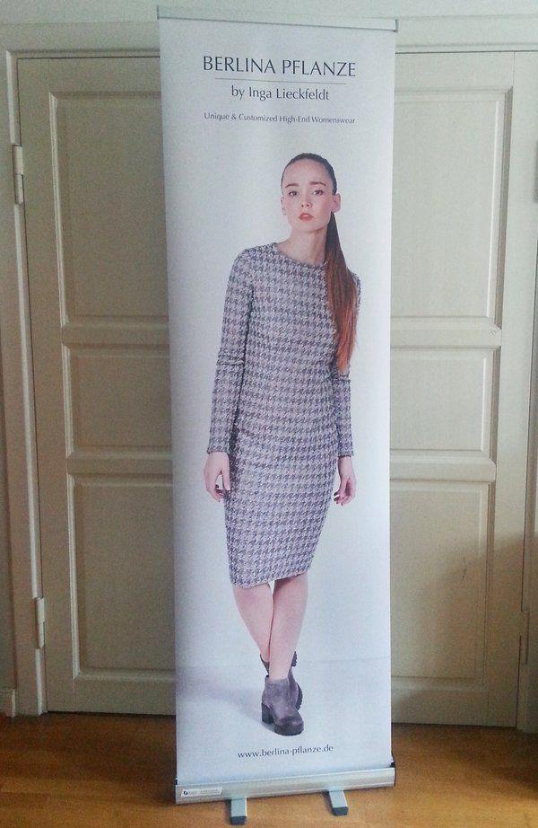 Preparations REICHERTPLUS PRESS DAY 05.04.16 Fairmont Hotel Hamburg Model Bettina Pepita Shift Dress