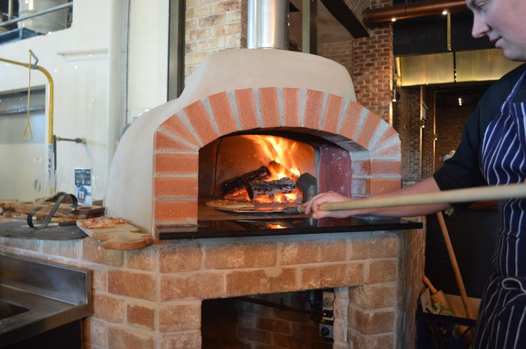 Pizza oven in the Craft Bar @ The Australian Hotel and Brewery