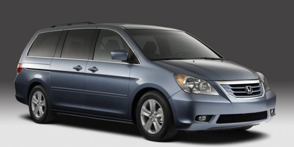 Honda Recalls 900000 Minivans For Fire Risk - A recall of some Honda Odyssey models is linked to a fuel strainer that may leak fuel and increase the risk of fire