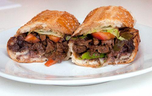 A Sandwich A Day: Carne Asada Torta from Downtown Bakery | Serious Eats : New York