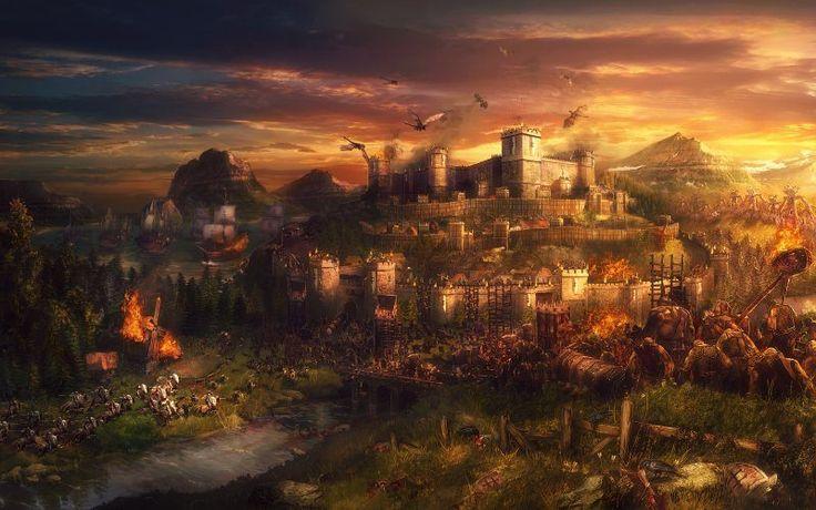 El Reino de Uniria bajo asedio