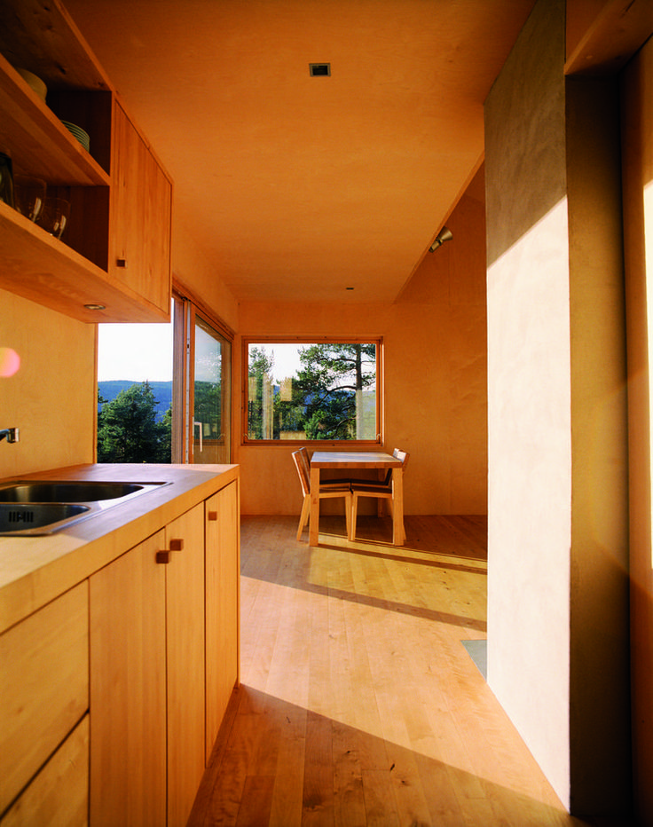 Small Prefab Homes - Prefab Cabins: Woody35 Small Cabin by Marianne Borge cabins.prefabium.com