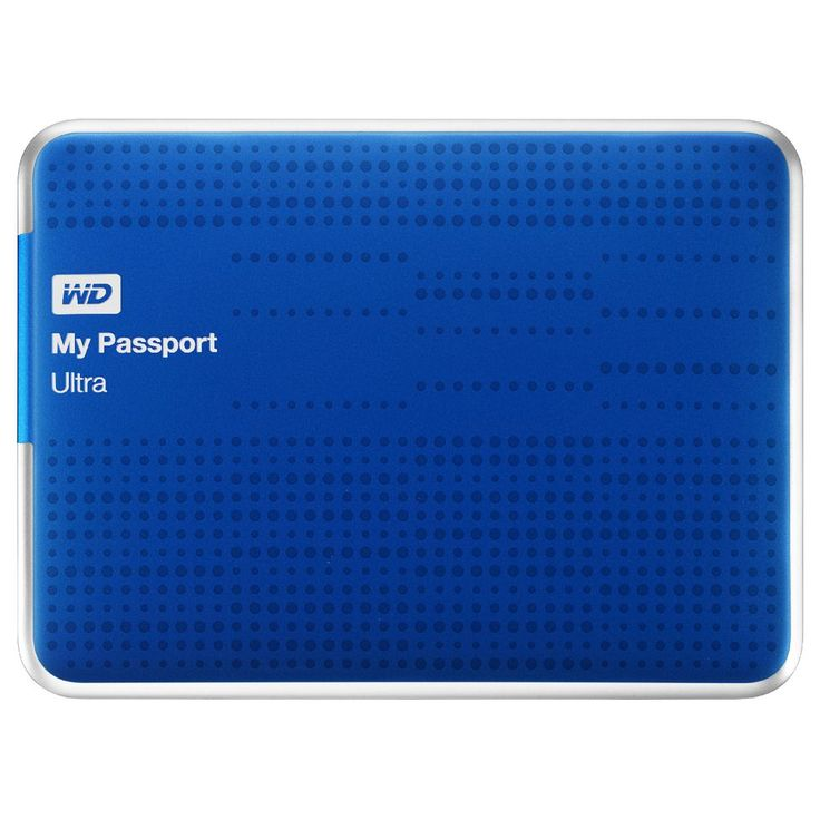 WD My Passport Ultra 1TB Portable Hard Drive Blue | Officeworks