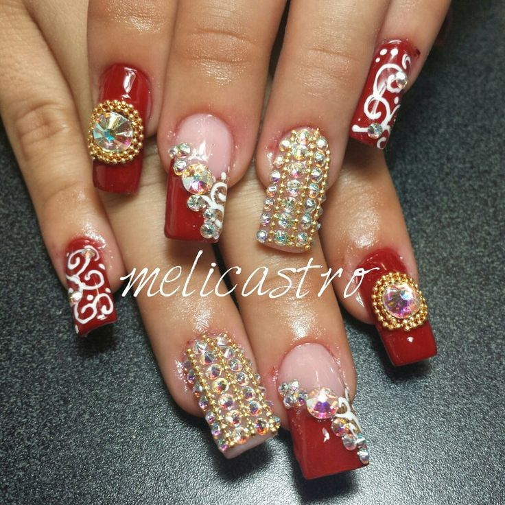 239 best images about u as on pinterest nail art for Pedreria swarovski para unas