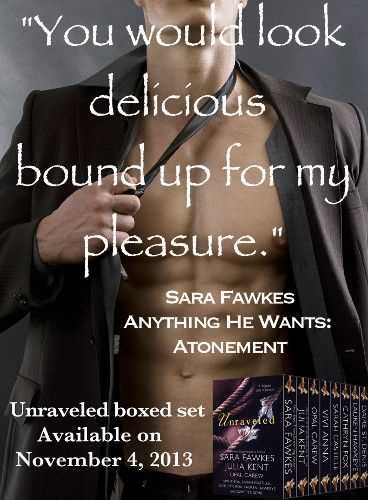 """""""Unraveled: 8 Delicious Tales of Passion"""" - Jeremiah Hamilton by Sara Fawkes"""