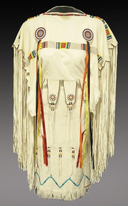 Native American http://nativeamericanencyclopedia.com/wp-content/uploads/2011/06/Southern-Plains-Buckskin-Dress.jpg