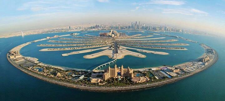 Palm Jumeirah Dubai , staying here in june next year