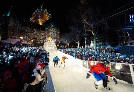 Red Bull Media House is teaming up with Microsoft to co-published a downloadable title called Red Bull Crashed Ice Kinect.