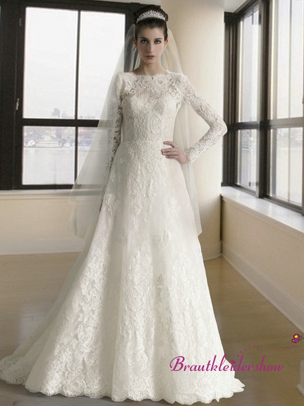 8 best Brautkleider mit Ärmel images on Pinterest | Homecoming ...