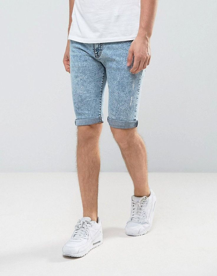 Get this Loyalty & Faith's denim shorts now! Click for more details. Worldwide shipping. Loyalty and Faith Acid Wash Denim Shorts - Blue: Shorts by Loyalty and Faith, Stretch denim fabric, Acid wash, Concealed fly, Five pocket design, Regular fit - true to size, Machine wash, 98% Cotton, 2% Elastane, Our model wears a 32/81 cm regular and is 188cm/ 6'2 tall. (pantalón corto vaquero, damaged, ripped, mom, distress, flex jean, vaquero, jean, jeans, tejano, tejanos, shorts vaqueros, pantalones…