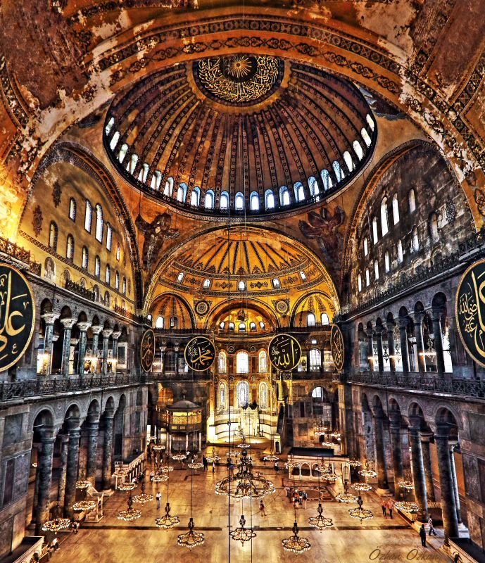 Ayasofya, İstanbul, Turkey - one of our favorite places!