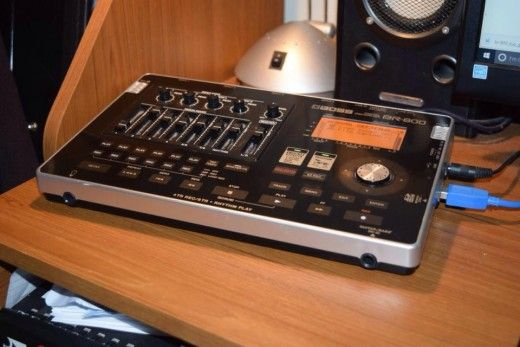 How the BOSS BR-800 Digital Recorder became an invaluable part of my recording…