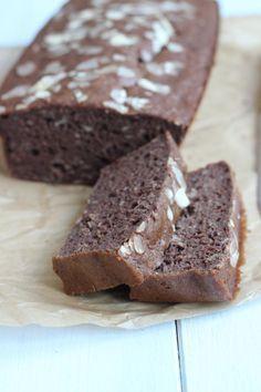 Gezond chocolade-bananen brood - Lekker en Simpel