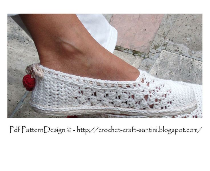 White Lace Espadrilles/Toms/BASIC Patter pattern on Craftsy.com It's not a free pattern but I love it