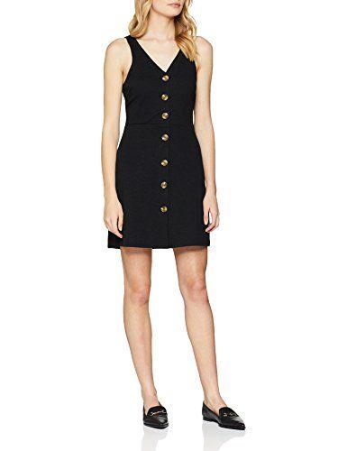 c829a4622bb420 New Look Women's 5794021 Dress (Black 1) (Size:14)   Women's Dresses ...