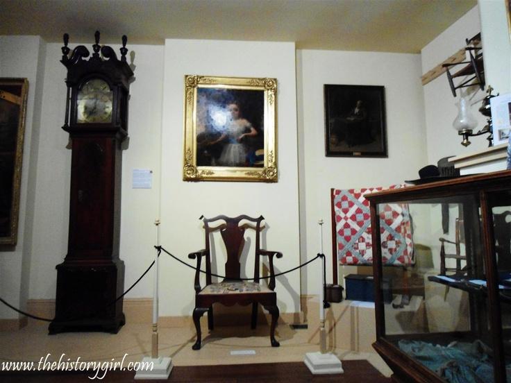 Interior Of The Salem County Historical Society Exhibit Room. The Society  Encompasses Three Historic Homes