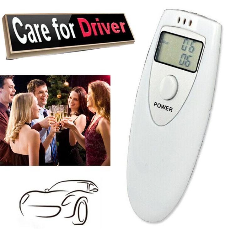 1 Unids Profesional Analizador de Alcohol HX-64 Pantalla LCD Digital Breath Alcohol Tester Analizador de Aliento de alcohol Tester