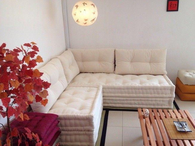 25 melhores ideias sobre almofada futon no pinterest for Sofa que vira beliche onde comprar