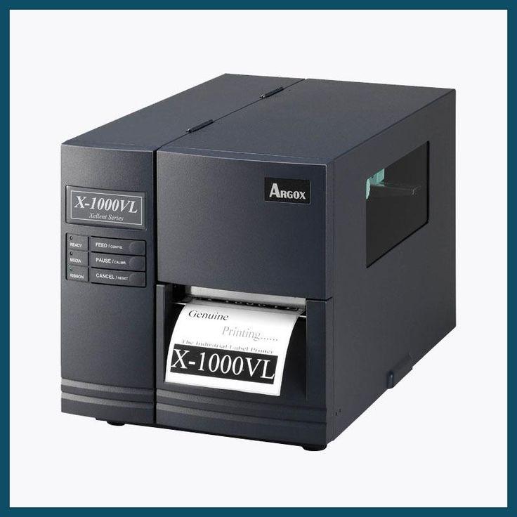 Original Argox X-1000VL industrial sticker printer machine 104mm impresora de etiquetas barcode transfer label printer