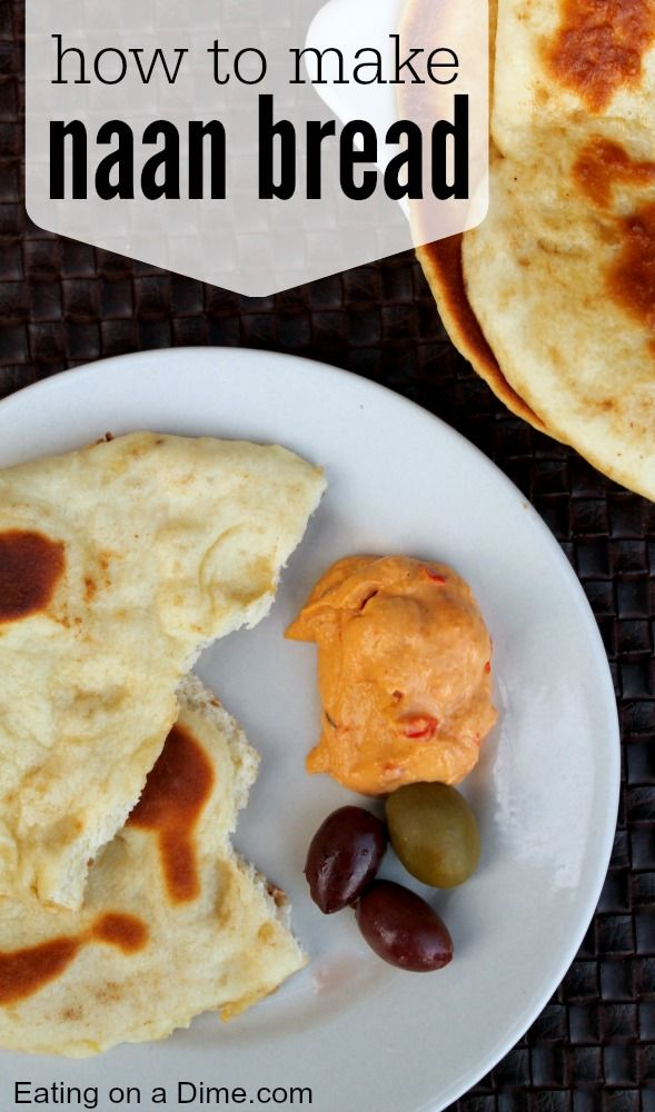 Learn how to make Naan bread two different ways. We are showing you how you can easily make it in a bread machine and how you can make it by hand. No mater which way you choose you can make delicious Naan bread at home for WAY less than buying it in the store.