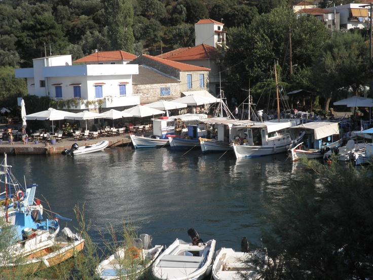 skala sikamnias Lesvos Island , Greece