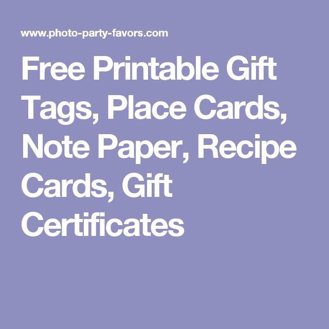 Mer enn 25 bra ideer om Free printable gift certificates på Pinterest - printable gift certificates free template