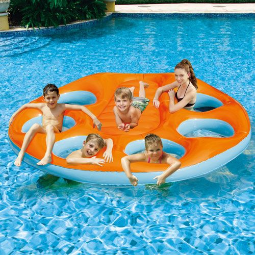 Party Island Oasis Pool Raft #inflatablepooltoy #pooltoy #poolraft #float