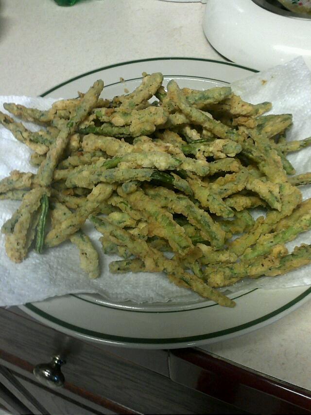 Fried Green Beans | recipes | Pinterest