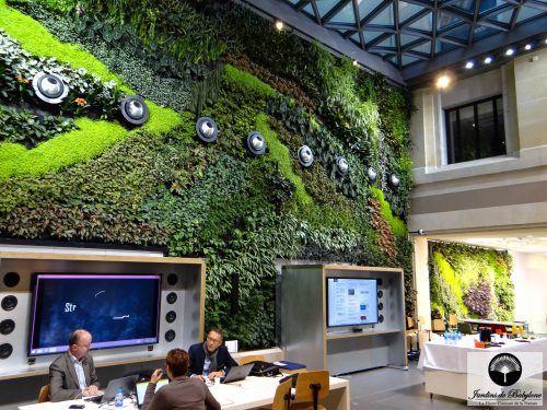 Die besten 25+ Mur végétal intérieur Ideen auf Pinterest - indoor garten wohlfuhloase wohnung begrunen