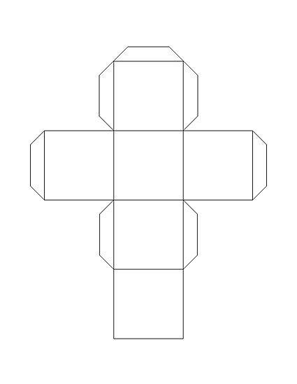 Een papieren kubus maken - wikiHow