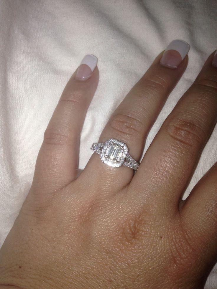 Love my Vera Wang engagement ring!